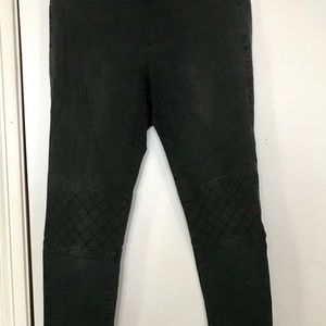 Charcoal grey jegging- CAbi